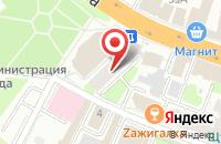 Схема проезда до компании Шик в Иваново