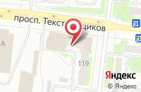 Схема проезда до компании Салон мебели и дверей в Иваново
