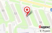 Схема проезда до компании Дизайн-Мебель в Иваново