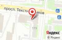 Схема проезда до компании Nakleechka37.ru в Александровке