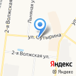 Шинный центр на карте Костромы