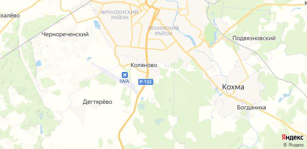 Бухарово на карте