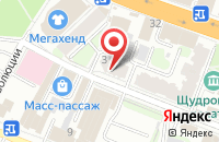 Схема проезда до компании M-Studio в Иваново