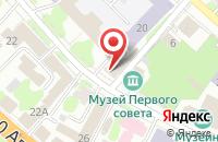 Схема проезда до компании Управление по делам наружной рекламы в Иваново