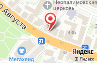 Схема проезда до компании 220 Вольт в Иваново