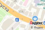 Схема проезда до компании Вольт в Иваново