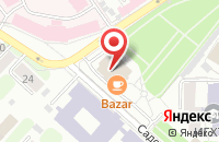 Схема проезда до компании Встреча в Иваново