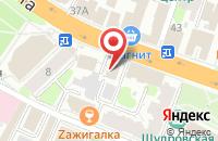 Схема проезда до компании Салон-ателье Татьяны Савосиной в Иваново