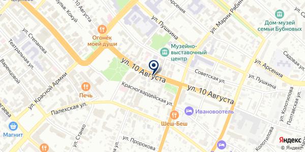 ДМ на карте Иваново