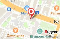 Схема проезда до компании Романс в Иваново
