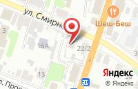 Схема проезда до компании Супер-мебель в Иваново