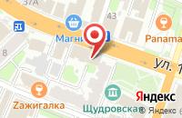 Схема проезда до компании Твоё время в Иваново