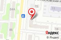 Схема проезда до компании Точка красоты в Иваново