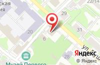 Схема проезда до компании Государственный архив Ивановской области в Иваново