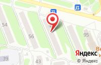 Схема проезда до компании Академия Салонного Сервиса в Иваново