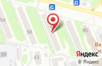 Схема проезда до компании Арт-Салют Иваново в Иваново