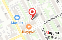 Схема проезда до компании Ашам в Иваново