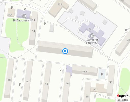Товарищество собственников жилья «Комфорт» на карте Костромы