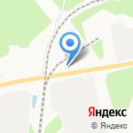 Печки-Лавочки на карте Костромы