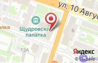 Схема проезда до компании Финская мебель в Иваново
