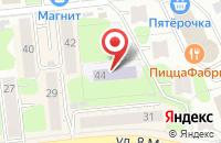 Схема проезда до компании Детский сад №66 в Иваново