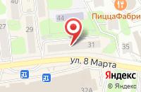 Схема проезда до компании Корона в Иваново