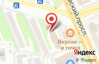 Схема проезда до компании Digital service в Иваново