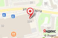 Схема проезда до компании Itown в Иваново
