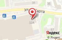 Схема проезда до компании Точка доступа в Иваново