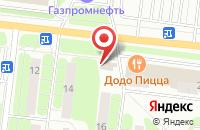 Схема проезда до компании Бакинский бульвар в Иваново