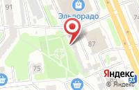 Схема проезда до компании Татьяна в Иваново