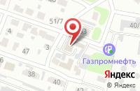 Схема проезда до компании Синий кот в Иваново