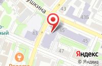 Схема проезда до компании ИГСХА в Иваново