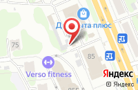 Схема проезда до компании Фортуна в Иваново