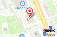Схема проезда до компании Мебель на пятом в Иваново