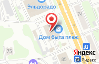 Схема проезда до компании IvApple в Иваново