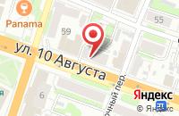 Схема проезда до компании Стоматология Вита в Иваново