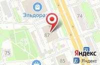 Схема проезда до компании Студия Екатерины Клюевой в Иваново