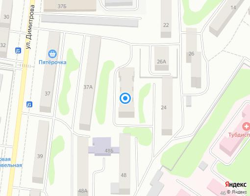 Товарищество собственников жилья «Комфорт 24» на карте Костромы