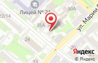 Схема проезда до компании НВ-сервис в Иваново