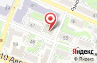 Схема проезда до компании Пульс в Иваново