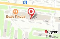 Схема проезда до компании Кенгуру-Комфорт в Иваново