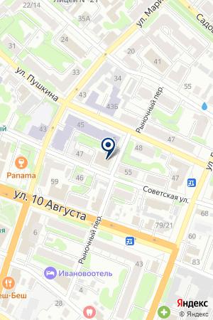 ГОРОДСКОЙ ПОДПИСНОЙ ИЗДАТЕЛЬСКИЙ ЦЕНТР на карте Иваново
