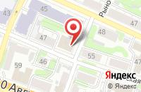 Схема проезда до компании Иввладагро в Иваново
