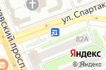 Схема проезда до компании Гранит-Мастер в Иваново