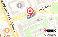 Схема проезда до компании Красивая Мебель в Иваново