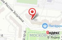Схема проезда до компании Динамика в Иваново