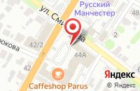 Схема проезда до компании СП Комплект в Иваново