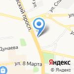 Ярополч на карте Иваново