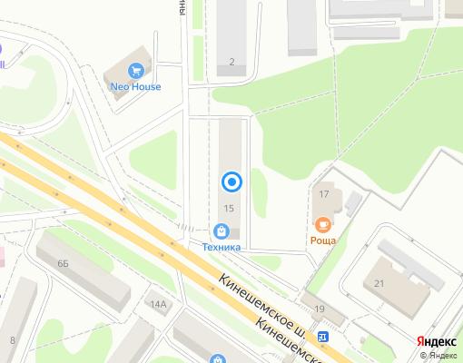 Управляющая компания «Премьер-Эксперт» на карте Костромы